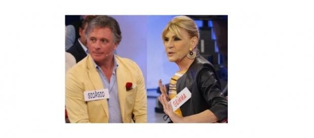 Uomini e donne over: Giorgio e Gemma ospiti di vari programmi Mediaset.