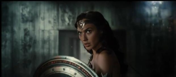 Wonder Woman dans le film Justice league