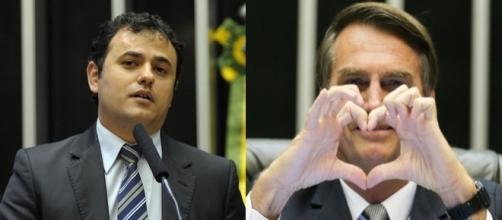 Bolsonaro rebateu críticas de Glauber Braga (Foto: Reprodução)