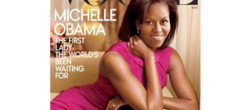 Michelle Obama on cover of Vogue magazine - Photo: Blasting News Library - lipstickalle