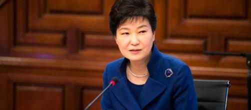 Park Geun-hye, presidenta de Corea del Sur.
