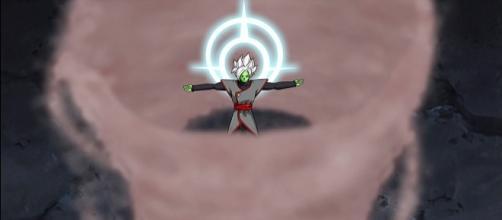 Zamasu fusionado revive, tras ser exterminado por Trunks
