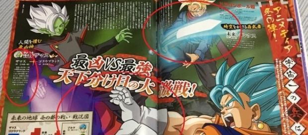 Imagen de la revista con las tecnicas de los guerreros