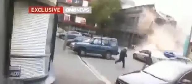 Intenso abalo sísmico foi sentido na capital do país, Wellington (SkyNews)