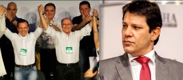 João Doria e Geraldo Alckmin (Foto: Nelson Antoine/FramePhoto/Estadão)