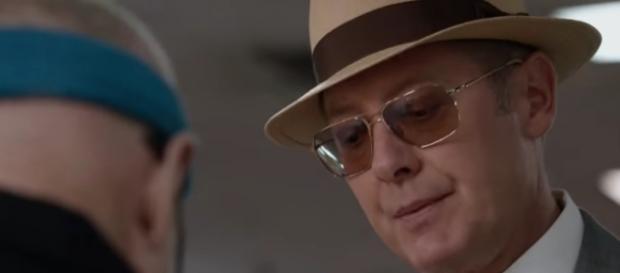 Red (James Spader) in 'The Blacklist'/Photo via screencap, 'The Blacklist'