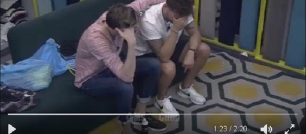 Rodrigo llora desconsolado porque Bea le ha decepcionado mucho