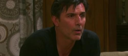 Deimos Kiriakis holds Philip hostage in 'Days Of Our Lives' - Image via Christian Ganiere/Photo Screencap via NBC/YouTube.com