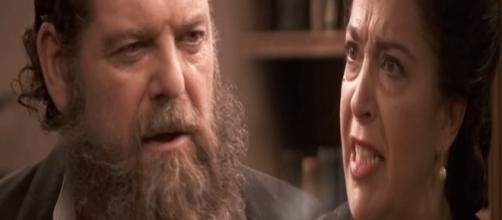Il Segreto, anticipazioni: Mauricio e Donna Francisca litigano per Berta