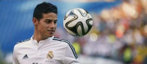 James Rodríguez, no cuenta para Zidane.