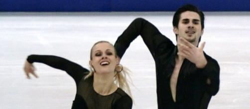 Madison Hubbell and Zachary Donohue earned the silver medal at the 2016 Trophee de France. Luu/Wikimedia Commons