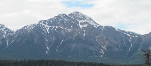 Pyramid Mountain in Jasper National Park (Credit: Shane Lambert)