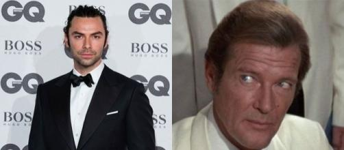 Roger Moore indica Aidan Turner come nuovo James Bond - yahoo.com