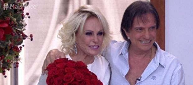 Ana Maria Braga revela que Roberto Carlos foi seu 'crush'