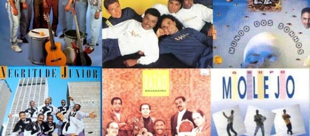 Capas dos CD das referidas músicas