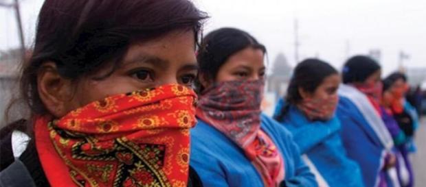Le donne del Chaipas come quelle peimontesi sono state in prima linea nel movimento di liberazione