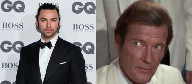 Roger Moore indica Aidan Turner come nuovo James Bond - yahoo.com