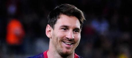 Lionel Messi, craque do Barcelona da Espanha