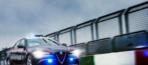 Alfa Romeo Giulia Carabinieri: foto inedite