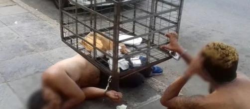 As custódias têm sido revezadas em turnos de 12 horas pelos policiais