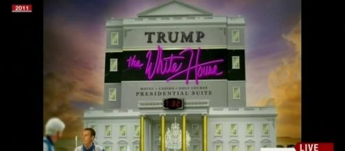 Así sería la Casa Blanca según Obama si Trump llega a ser presidente