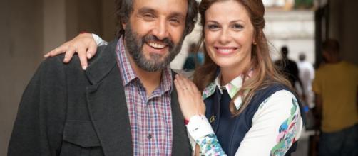 """Flavio Insinna e Vanessa Incotrada, protagonista de """"La classe degli asini"""""""