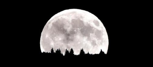 Foto e video dello spettacolo della Superluna