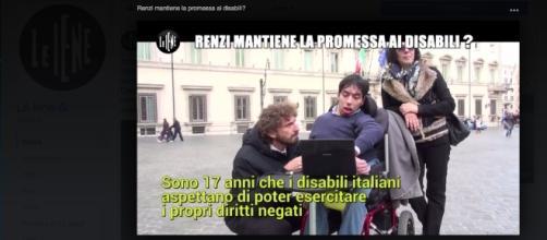 Un servizio di Filippo Roma dà voce ai disabili