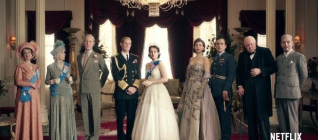 A vida da Rainha é o tema da nova série da Netflix - The Crown.