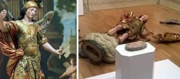 Brasileiro destrói patrimônio histórico de Portugal