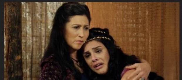 Em 'A Terra Prometida', Samara morre após ficar vários anos longe do acampamento dos hebreus