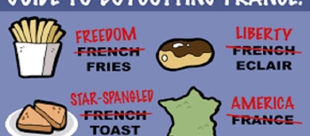 Le French bashing culminait aux USA en 2003 ; alors en Trumpland !