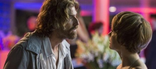 Pedro e Helô se separam em 'A Lei do Amor'