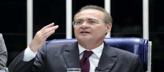Presidente do Senado, Renan Calheiros planeja resposta a magistrados