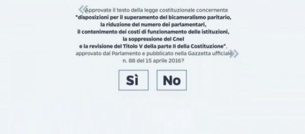Referendum Costituzionale 4 dicembre: cosa votare?