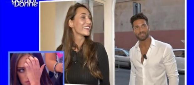 Sonia Lorenzini con Claudio D'Angelo