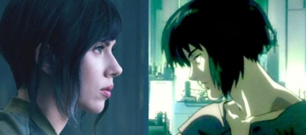 The lead character, as she appears in the live-action movie and anime, respectively - BlastingNews library (movieweb.com)