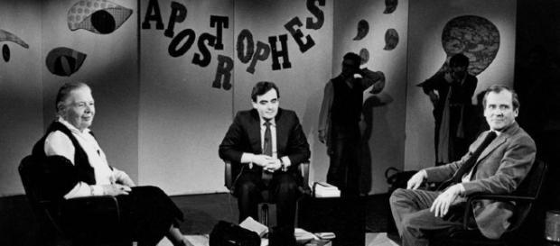 Una imagen de 'Apostrophes', quizá el mejor programa de TV literario de todos los tiempos.