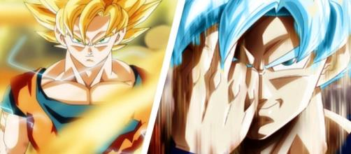 goku y goku azul deviantart dragon ball super
