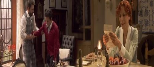 Il Segreto, anticipazioni: Carmelo cammina, Fè legge la lettera d'addio di Ines