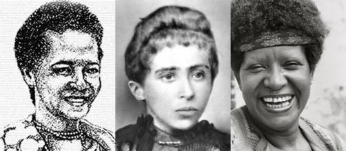 Luíza Mahin, Auta de Souza e Lélia Gonzalez