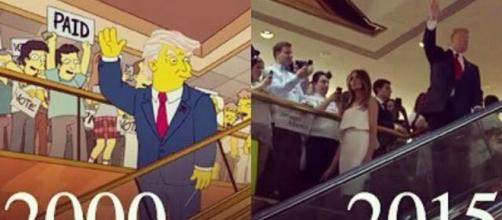 Prediccion Los Simpsons D.Trump