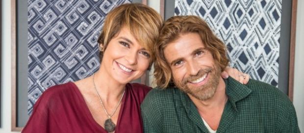 Claudia Abreu e Reynaldo Gianecchini ditam moda com novos penteados