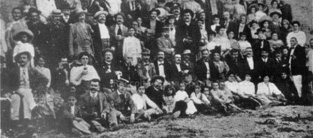 Gli Scariolanti di Ravenna (Foto d'epoca)