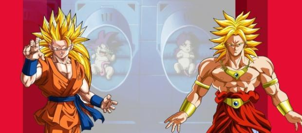 goku y broly deviantar dragon ball super