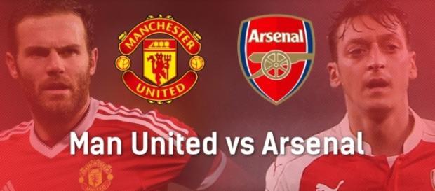 Infographic: United v Arsenal | Free Super Tips - freesupertips.co.uk