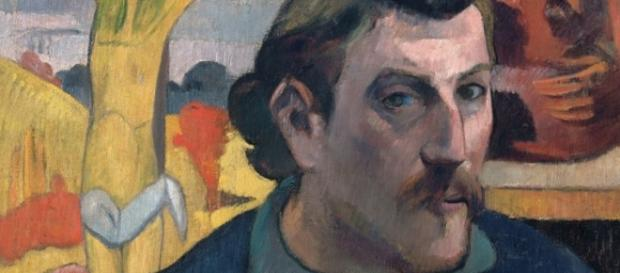 "Paul Gauguin's ""Self-Portrait with Yellow Christ"" bigthink.com Creative Commons"