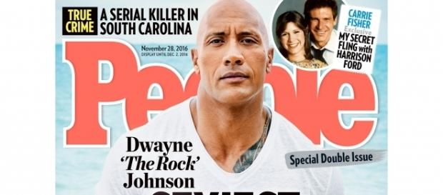 The Rock has been names Sexiest Man Alive for 2016 by People Magazine, via People.com