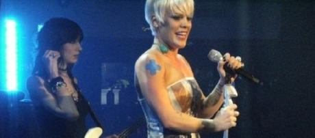 Source: Wikimedia P!nk on pregnancy and healthy weight loss