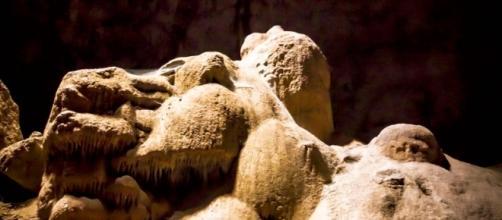 Las formaciones espeleotémicas de esta cueva tienen formas sorprendentes